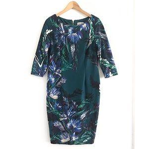 Eliza J midi dress floral size 12P